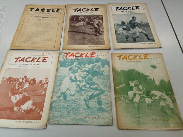 Couvertures de l'hebdomadaire «Tackle», créé par Ernesto« Che» Guevara.