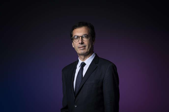 L'actuel dirigeant de Keolis et futur patron de la SNCF, Jean-Pierre Farandou, à Paris, le 26 septembre.