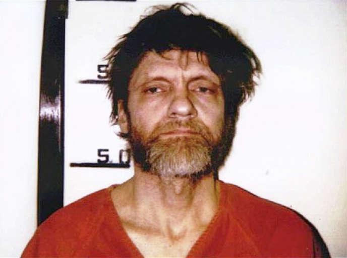 Theodore Kaczynski, dit« Unabomber», à son arrestation, en 1996.