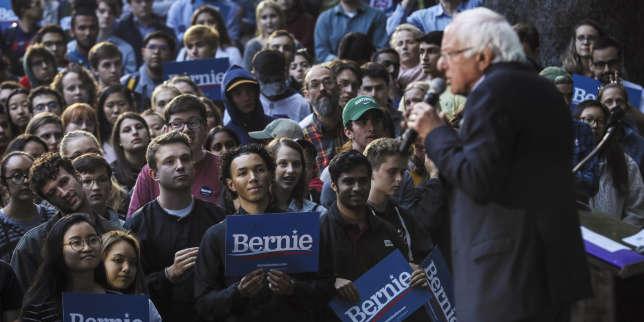 La santé de Bernie Sanders et la procédure de destitution contre Trump, thématiques du jour de la primaire démocrate