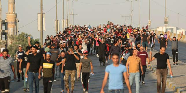 Irak : contre la corruption, le chômage et la faillite de l'Etat... les manifestations sanglantes continuent