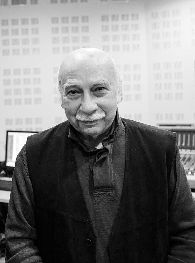 Le compositeur géorgien Giya Kancheli.