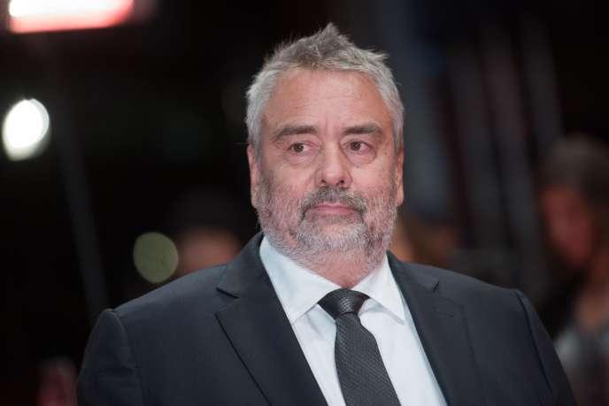 Luc Besson lors de la 68e édition de la Berlinale, le 17 février 2018 en Allemagne.
