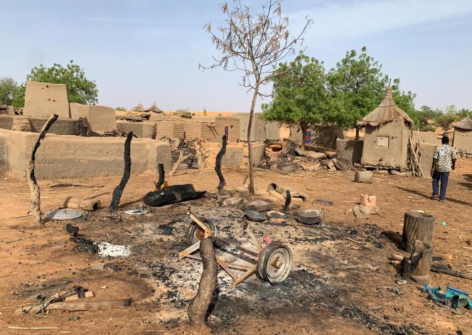 Le village dogon de Sobane Da, au Mali, cible d'une attaque le 11juin 2019.