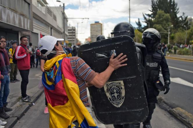 A Quito, le 4 octobre.