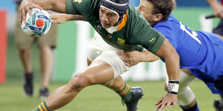 Coupe du monde de rugby 2019 : Cheslin Kolbe, petit gabarit et grand atout de l'Afrique du Sud