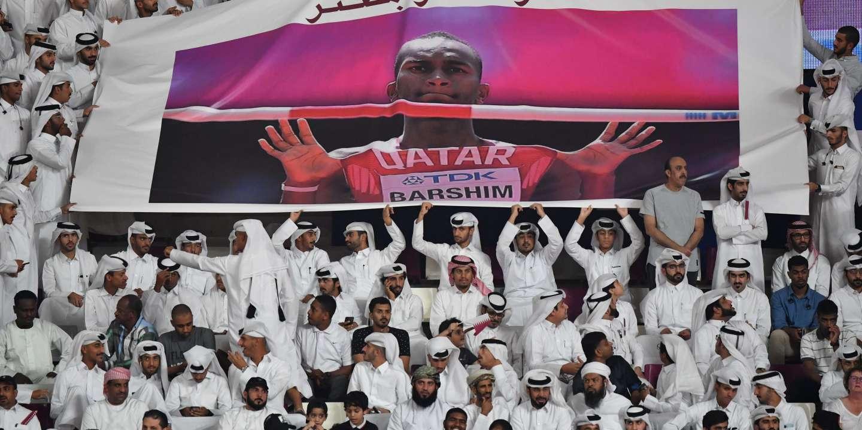 Mondiaux d'athlétisme : le titre du Qatari Barshim offre enfin une ambiance festive à Doha