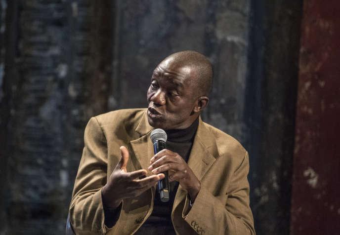 Samuel Sidibé, historien de l'art et archéologue, ancien directeur du Musée national du Mali à Bamako, samedi 5 octobre au Monde Fesival.