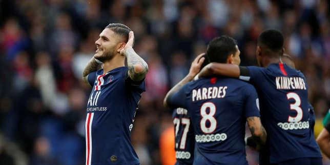 Ligue 1 : le PSG écrase Angers, Nantes au contact, Monaco replonge