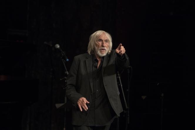 Paris, samedi 5 octobre 2019, Le Monde Festival auThéatre des Bouffes du Nord avec Pierre Richard.