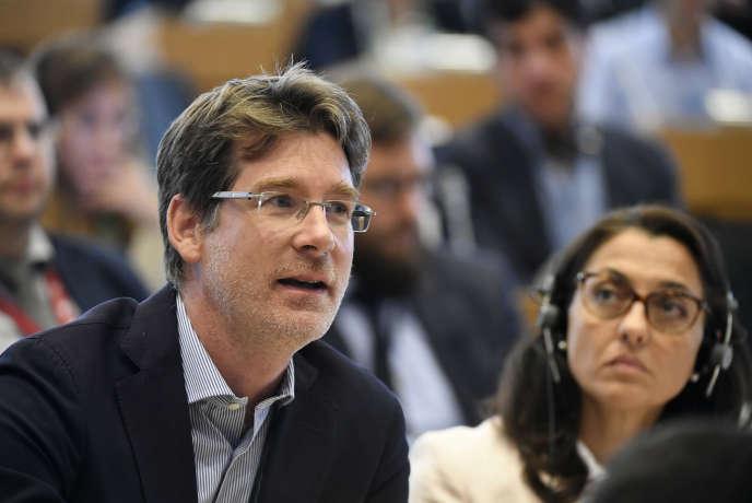 Pascal Canfin au Parlement européen à Bruxelles, le 4 septembre.