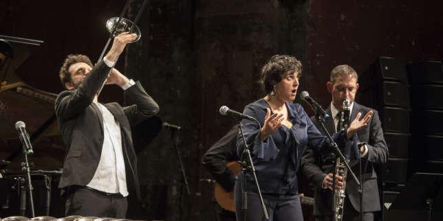 Feu d'artifice musical avec Marion Rampal dans la Nuit du Monde Festival