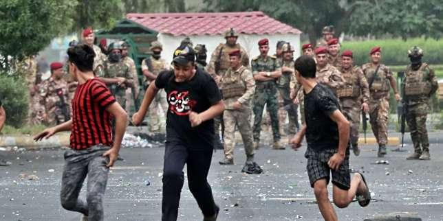 En Irak, la violence de la répression contre la contestation s'étale au grand jour