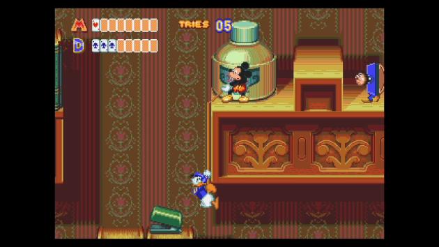 Moins connue que« Castle of Illusion», sa suite« World of Illusion» propose pourtant une expérience à deux joueurs tout à fait moderne.