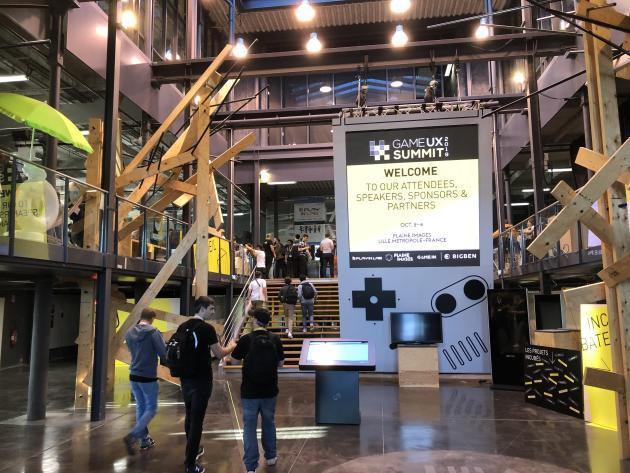A la Plaine Images de Tourcoing, une centaine de professionnels venus du monde entier ont échangé autour de leur expérience, lors du Game UX Summit.