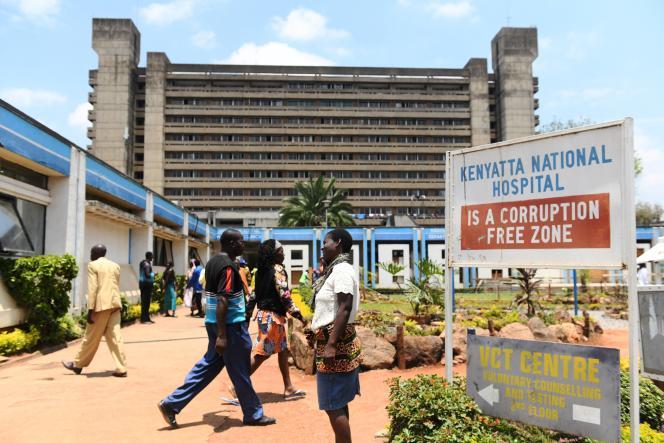 Des centaines de défunts sont retenus au Kenyatta National Hospital à Nairobi. Ici, en septembre 2019.