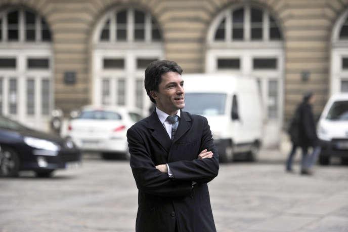 Marc Trévidic à Paris, en 2011.