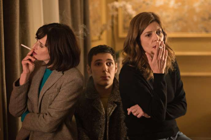 De gauche à droite, Camille Cottin, Vincent Lacoste et Chiara Mastroianni.