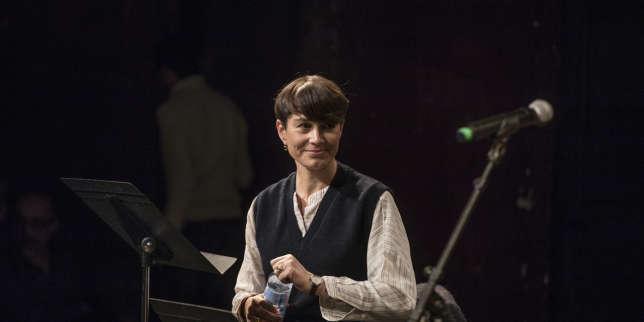 Joy Sorman : lecture de «Fou comme un lapin» au Monde Festival
