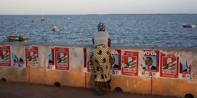 A Maputo, début septembre, les affiches commencent à fleurir pour les élections générales du 15 octobre 2019.