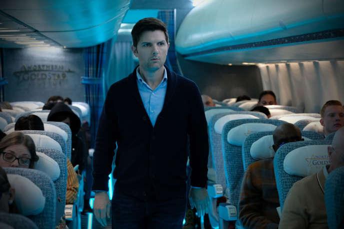 Adam Scott dans l'épisode «Cauchemar à 30 000 pieds».