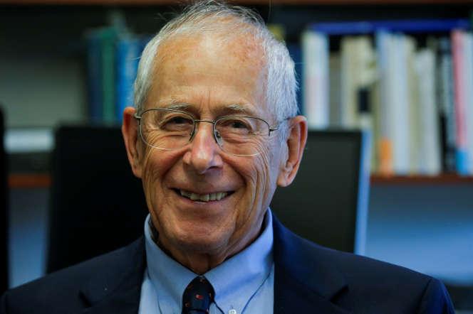 James Peebles, le 8octobre, à Princeton, dans le New Jersey.