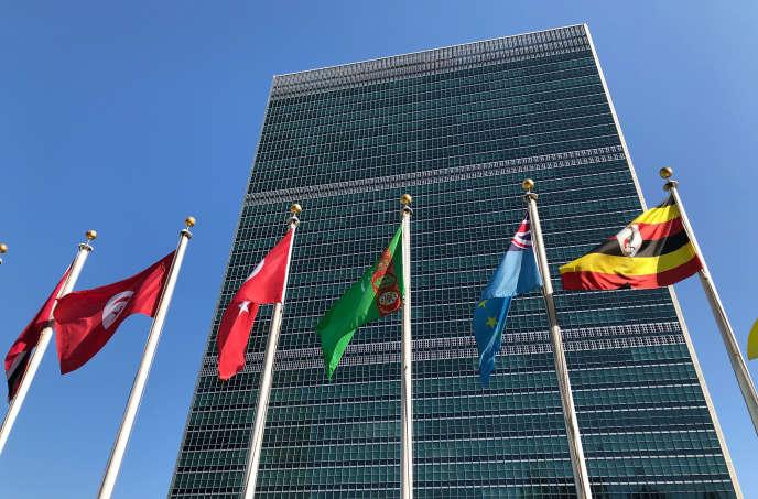 Le siège des Nations unies, à New York, en septembre 2019.