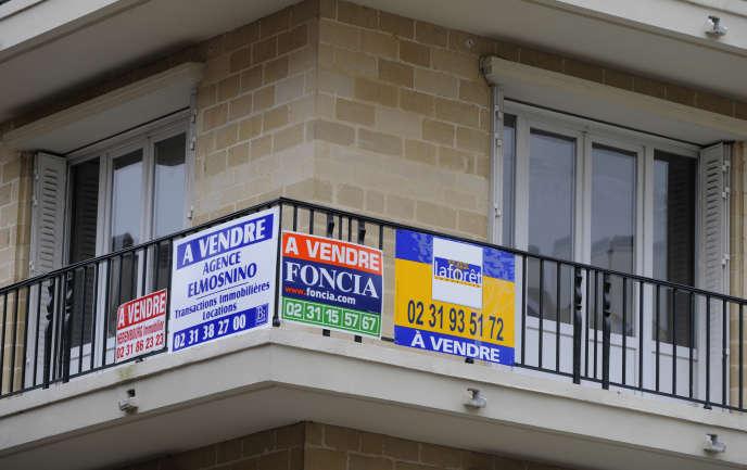 Appartement à vendre à Caen, dans le Calvados, en novembre 2008.