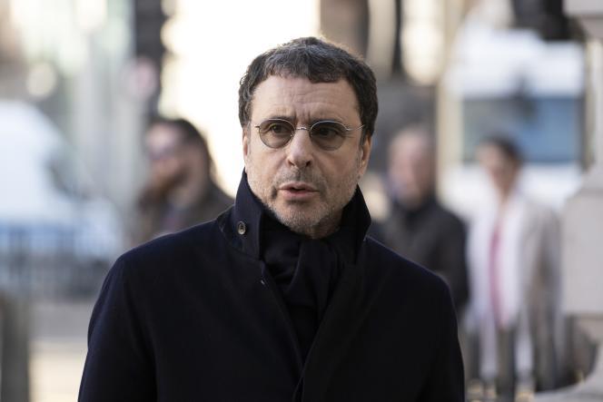 Alexandre Djouhri, à Londres, le 26 février.