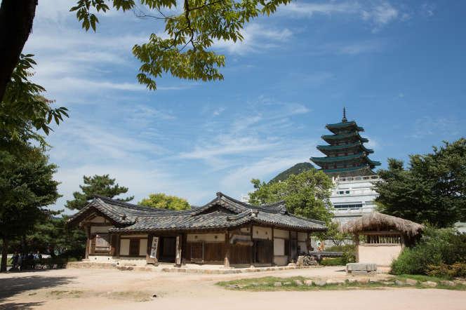 Le musée folklorique de Corée.
