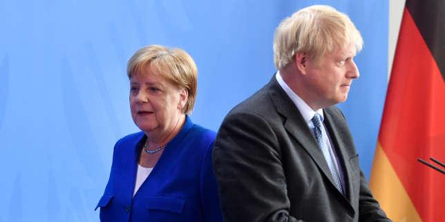 Brexit: Londres accuse Dublin et Berlin de l'échec des négociations