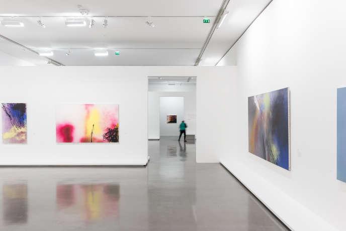 Au Musée d'art moderne de la Ville de Paris, le 7 octobre 2019, avant sa réouverture, l'exposition temporaire «Hans Hartung, La Fabrique du geste».