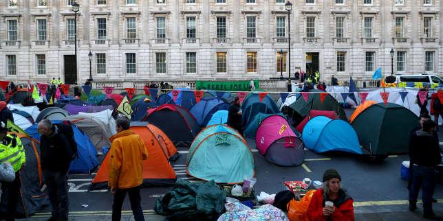 Planète : Toute l'actualité sur Le Monde.fr.Londres, Paris ou Berlin: Extinction Rebellion lance des blocages dans le monde entier