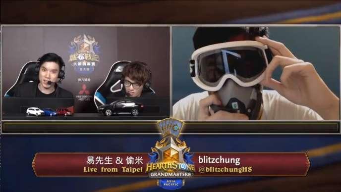 Chung Ng Wai a été exclu du championnat de« Hearthstone», un jeu vidéo de Blizzard, pour avoir affiché son soutien aux manifestants hongkongais.