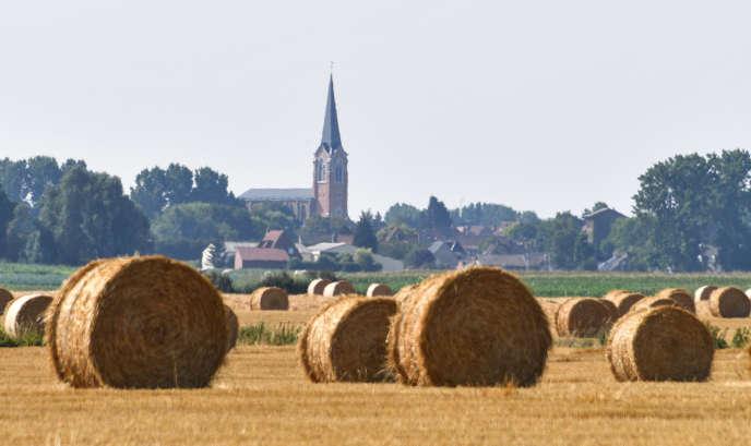 Le village de Fromelles, près de Lille (Nord), le 10 juillet 2018.