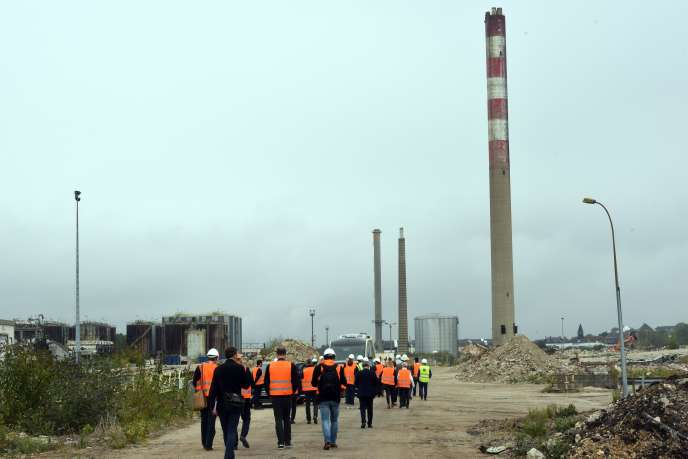 L'ancien site de la raffinerie Petroplus (ici, le 13 septembre) a été racheté par la société de dépollution Valgo en 2014.
