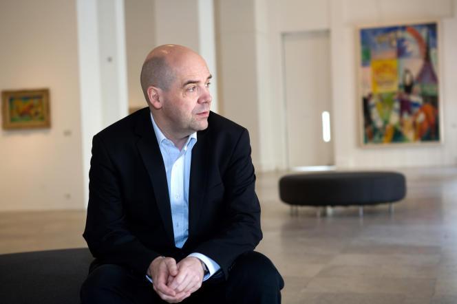 Fabrice Hergott, directeur du Musée d'art moderne de la Ville de Paris.
