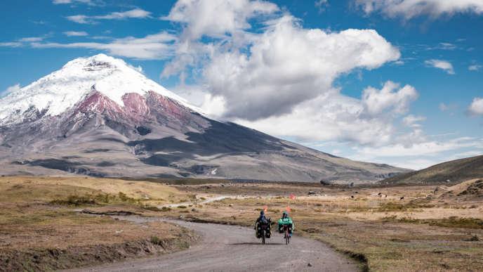 Face au Cotopaxi, en Equateur, le 17 juillet.