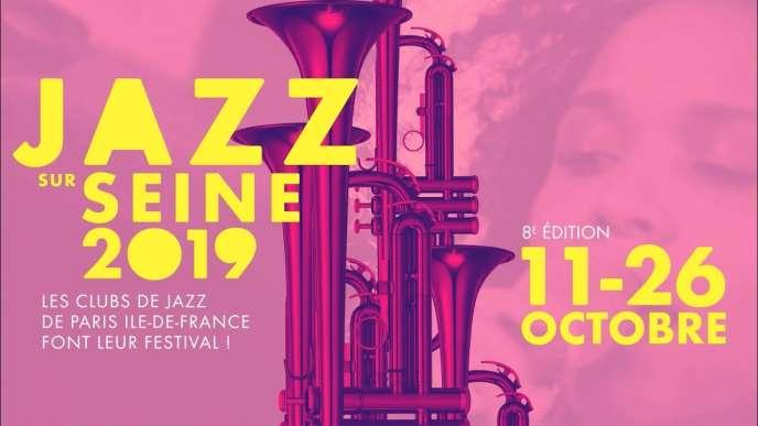 Affiche du festival Jazz sur Seine.
