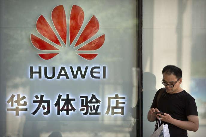 A Pékin, le 29 mai. Le groupe chinois est le leader mondial des équipements de télécommunications.