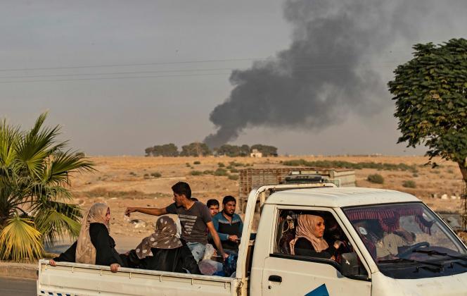 A Ras Al-Aïn, le 9 octobre.