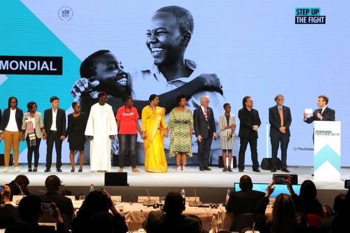 La conférence de reconstitution des ressources financières du Fonds mondial a permis de réunir 14milliards de dollars, jeudi 10 octobre, à Lyon.
