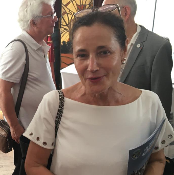 Evelyne Decorps, préfète, administratrice supérieure des Terres australes et antarctiques françaises, le 27 juin, au ministère des outre-mer.