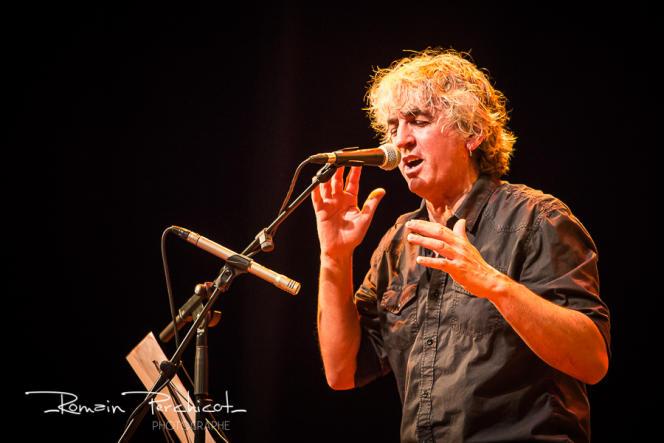 Le chanteur et musicien Alain Larribet, surnommé «le berger des sons».
