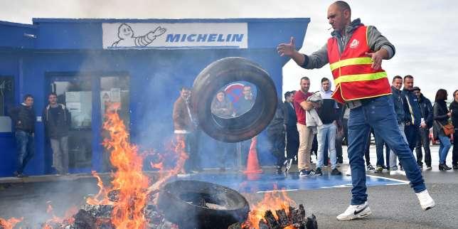 A La Roche-sur-Yon, les «Michelins» sonnés par l'annonce de fermeture de leur usine