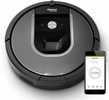 Un nettoyage plus efficace, une navigation plus intelligente iRobot Roomba 960