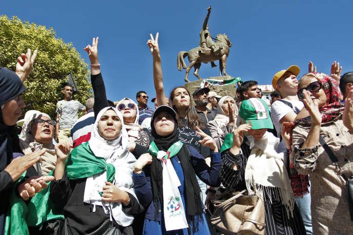 Manifestation antigouvernementale à Alger, le 8 octobre 2019.