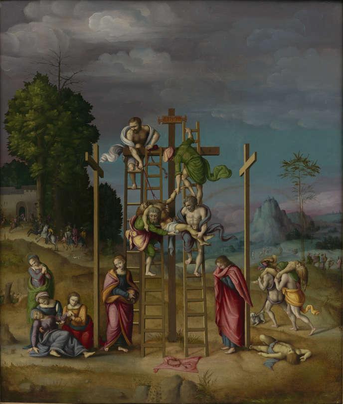 «Déposition de croix»(1495), de Francesco Ubertini, dit Bachiacca.