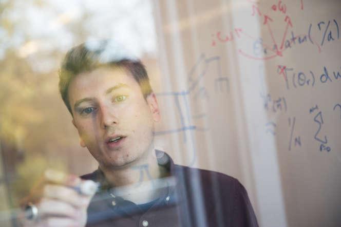 Le Franco-Suisse Paul Barde, en doctorat à l'université McGill et chercheur associé au Mila. Montréal (Québec), le 10 octobre.