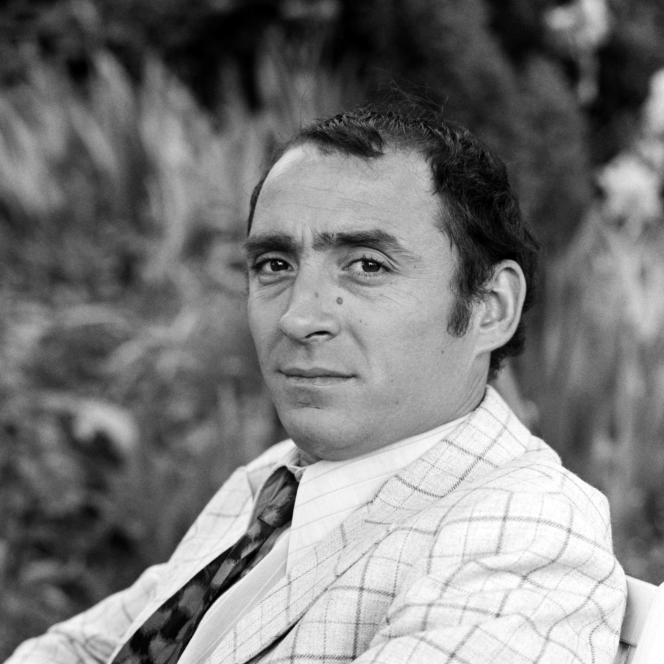 Claude Brasseur dans le téléfilm «Les Eaux melées», en 1969.